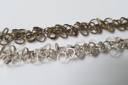 Chain - CH-808 - 5mm Circle Cluster Chain
