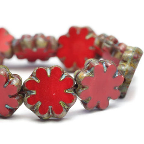 9 mm Cactus Flower Red w/ Picasso Finish