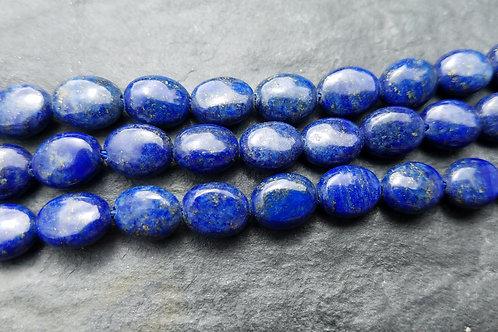 Lapis Lazuli - 8x10 mm Flat Oval