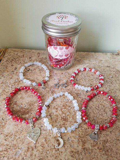 Valentine's Day Jewelry Jar Kit