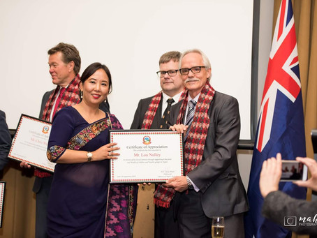 Nepal Ambassador acknowledges Australian contribution