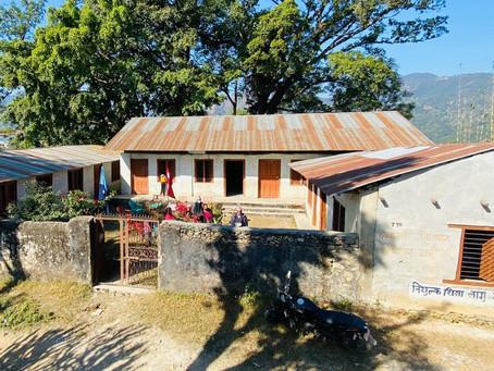 Rebuild of two classrooms I Shree Janajyoti Adharbhut School, Tanahun