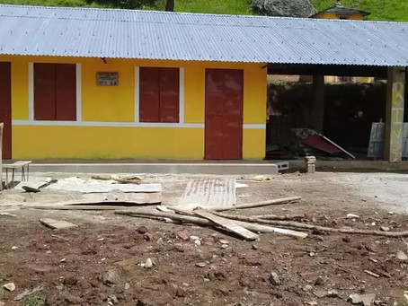 Build of two additional classrooms at Shree Kalika Secondary School