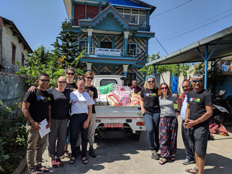 Support to vulnerable women at a refuge centre in Pokhara through Kopila Nepal