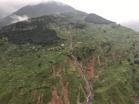 Aid for families affected by monsoon flood & landslides