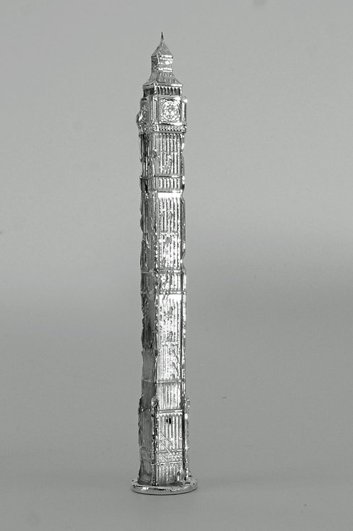 Limited Edition Post Apocalyptic Big Ben in Sterling Silver