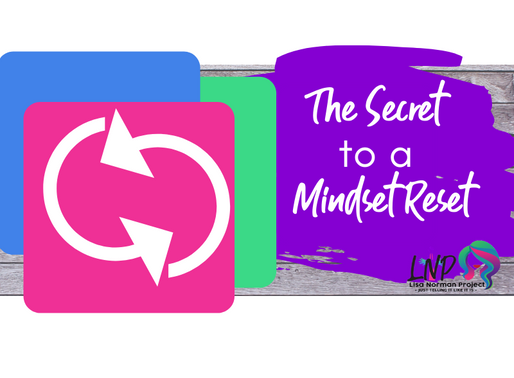 The Secret to Mindset Reset on a Crappy Day:  Happy Mom Chaotic Life Ep. 6