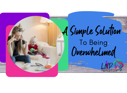 A Simple Solution to Being Overwhelmed: Happy Mom Chaotic Life Ep 4.