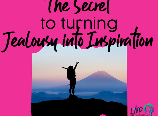 The Secret to Turning Jealousy into Inspiration