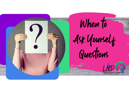 When to Ask Yourself Questions: Happy Mom Chaotic Life Ep. 3
