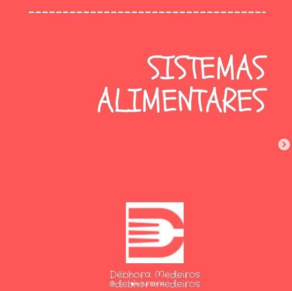 Nomenclatura dos Sistemas Alimentares
