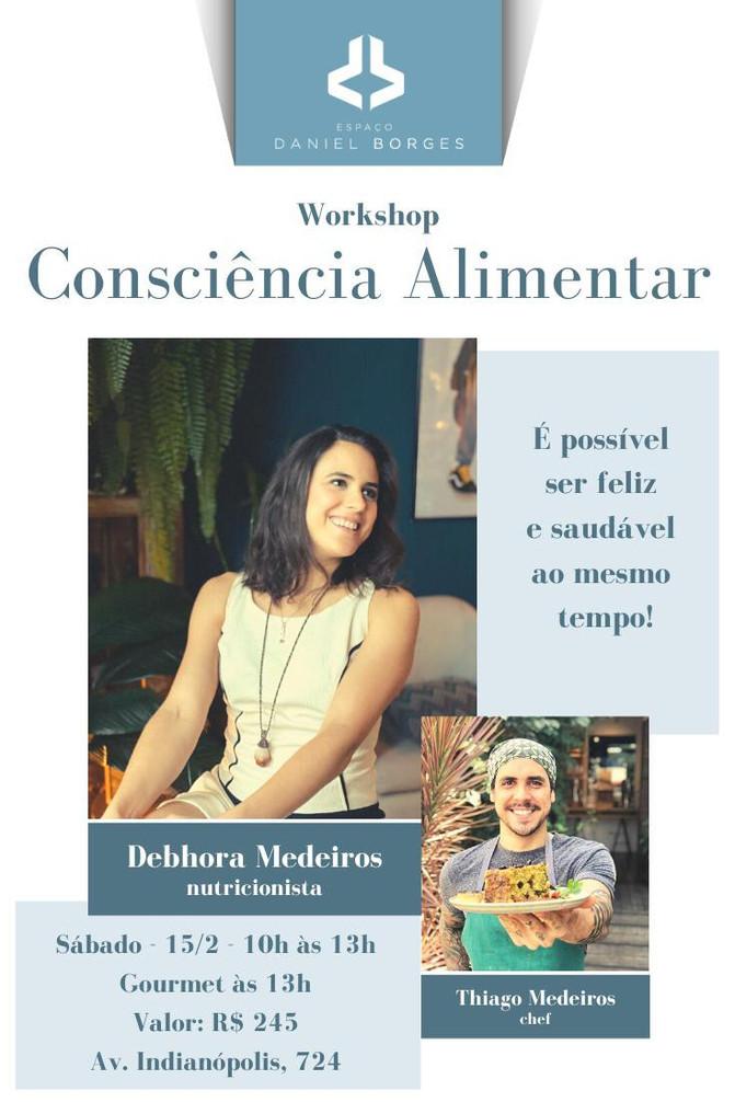 Workshop: Consciência Alimentar