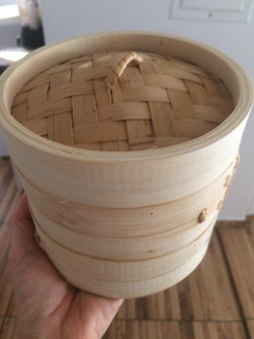 vaporeira de bambu!