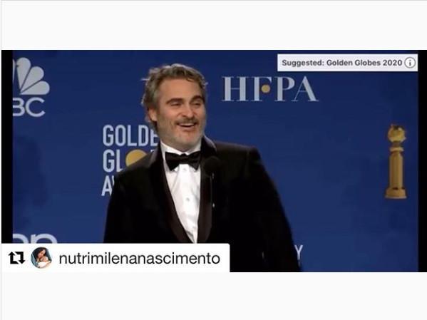 Consciência Alimentar no Golden Globes