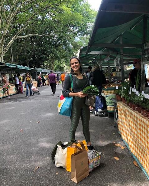 Dia de feira de orgânicos!
