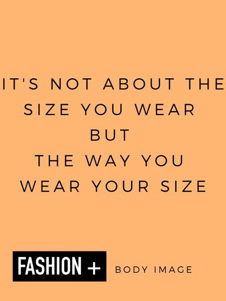 Fashion and body image: vanity sizing or insanity sizing
