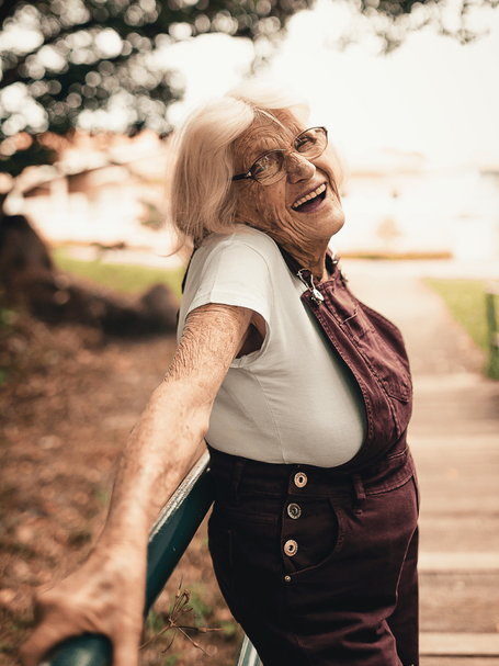 Challenging the Conventional Image of Elderly Women