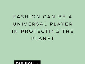 The low down on sustainable fashion textiles