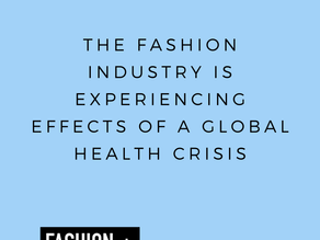 COVID-19: the impact on the fashion world
