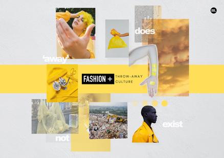 Fashion + Throw-away Culture