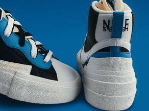 Wearing Blue Without Feeling It: How Shoes Are Made from Plastic Bottles