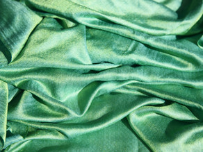 Once Upon A Frock – The Green Silk Dress
