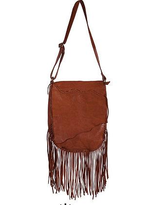 Boho Chic Asymmetrical Flap Bag