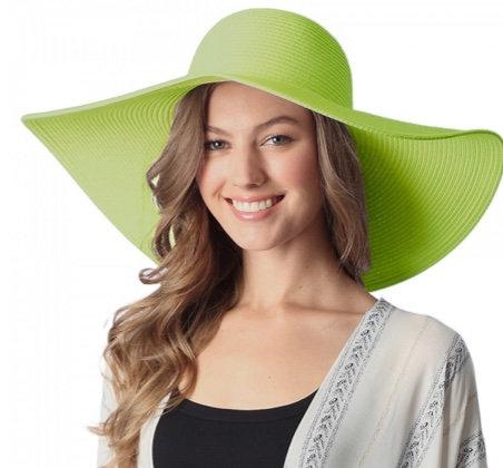 WIDE BRIM FLOPPY BEACH HAT