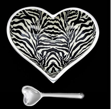 Happy Hearts Dish & Heart Spoon Set