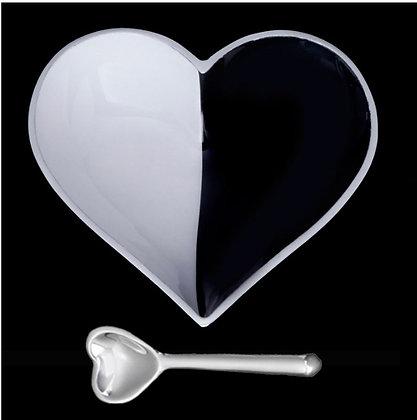 Happy Heart Dish & Spoon set