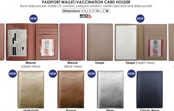 Passport Wallet / Vaxx Card Wallet
