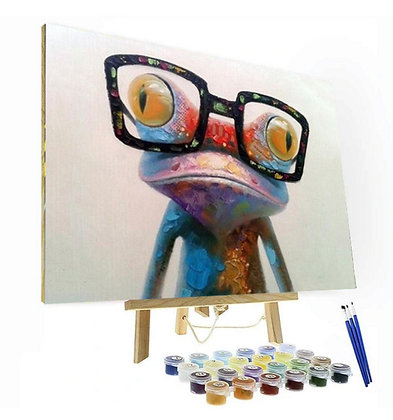 Nerdy Frog Do It Yourself Number Painting