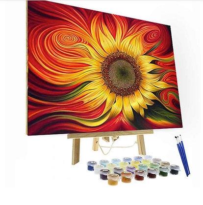 Sunflower Spiral