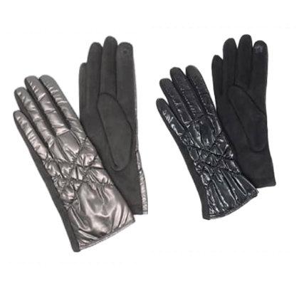 Puffer Gloves Tech Finger