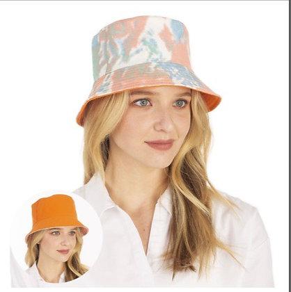 Reversible Tye Dyed Bucket Hats