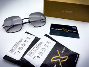 REVIEW CASE :  แว่น Mykita MAGDA  กับ EssilorVarilux X Series Airwear Xtractive Grey