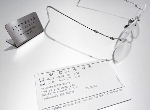 REVIEW CASE :  แว่น LINDBERG precious 2171 spirit diamond กับ เลนส์ Impression Freesign 3 index 1.60