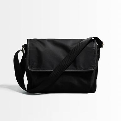 Nylon Daily Messenger Bag