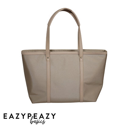 Large Nylon Zipper Tote
