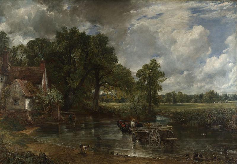 Oil on canvas, 130.2 x 185.4 cm