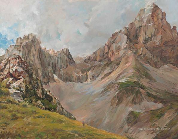 君臨天下  The Alps I