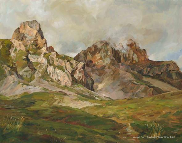 阿爾卑斯山-L'Obiou  The Alps - L'Obiou