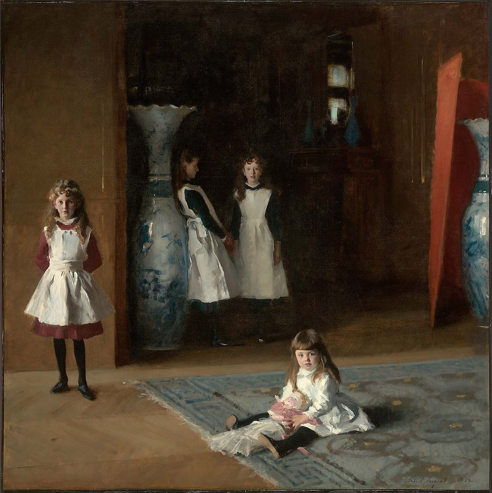 Oil on canvas, 221.93 x 222.57 cm