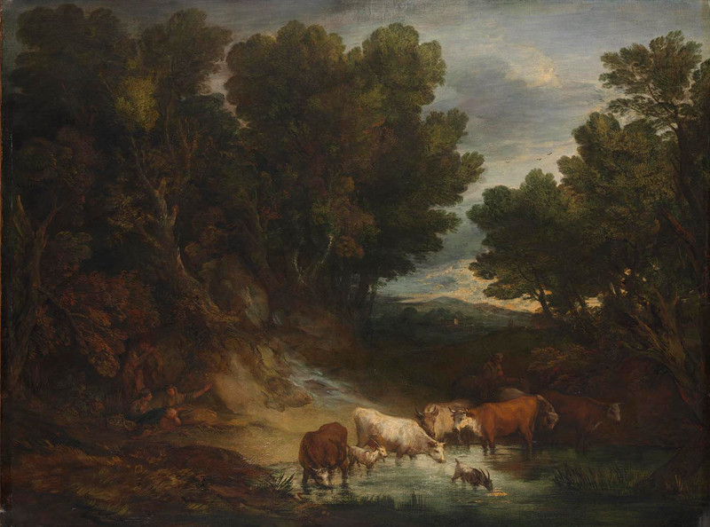 Oil on canvas 147.3 x 180.3 cm