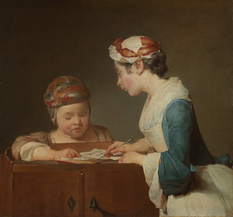 Oil on canvas, 61.6 x 66.7 cm