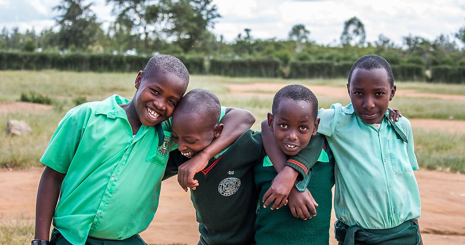 Future Bright Future Secondary School students in Rwanda