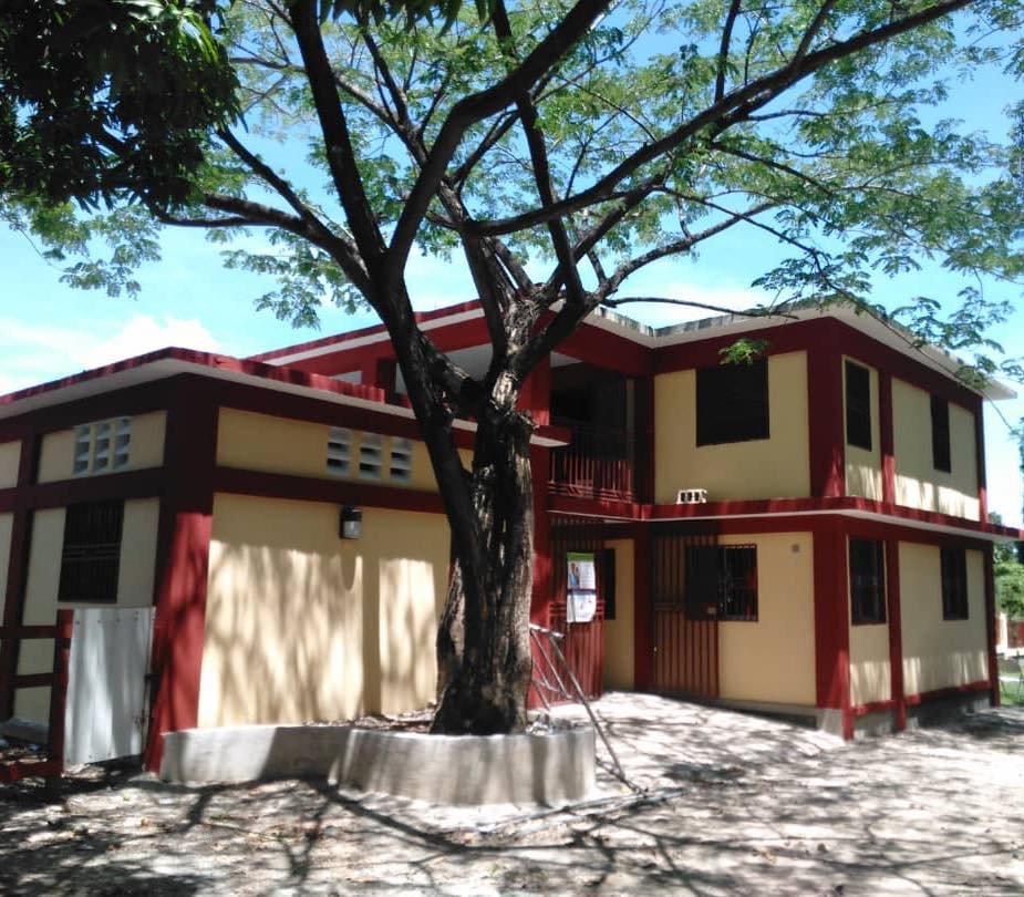 Fully constructed Haiti ARISE Birthing Centre