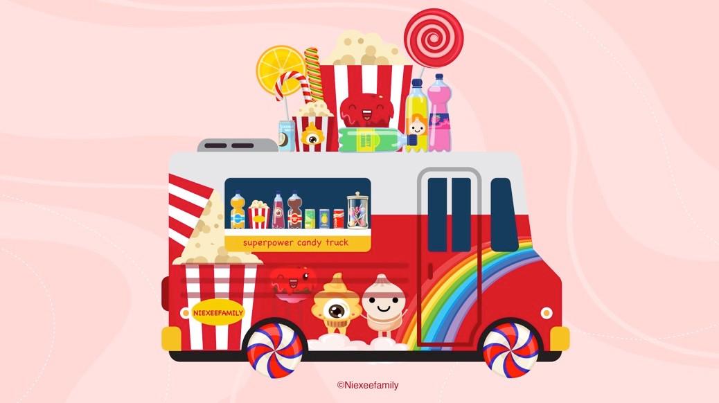 Niexeefamily Candy Truck