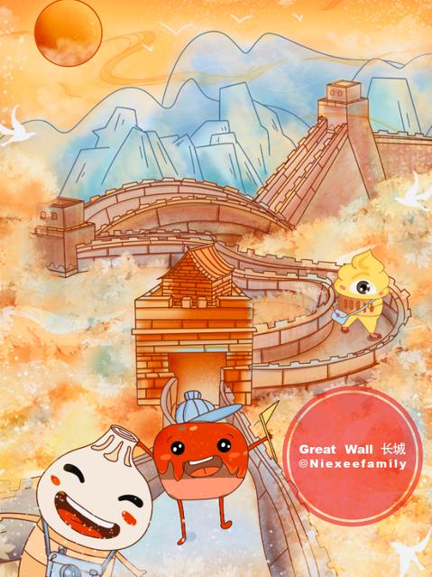 Great Wall by Niexeefamily
