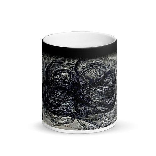 Matte Black Magic Designer Mug